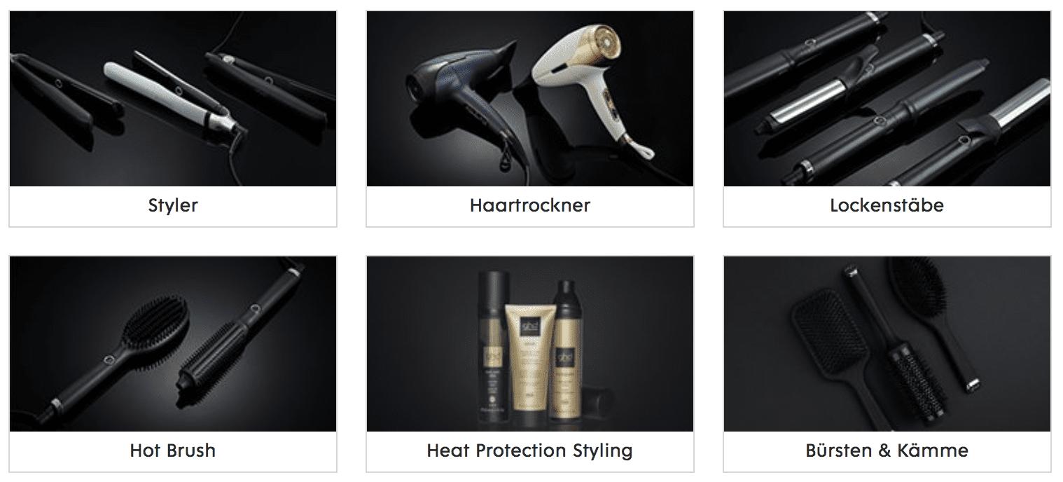 GHD Produkte auf Flaconi.de