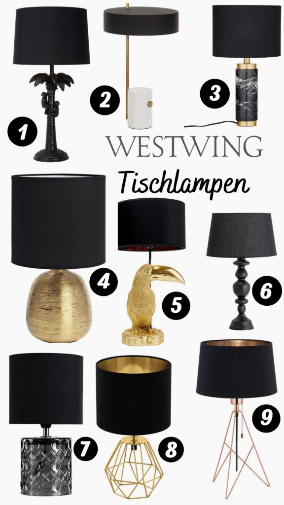 Westwing Tischlampen